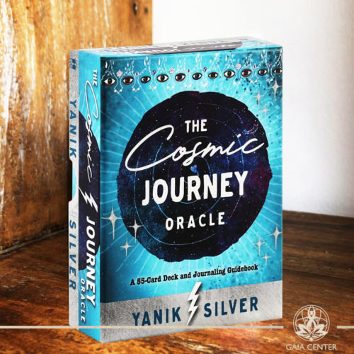 The Cosmic Journey Oracle Cards Deck by Yanik Silver. A 55 card deck and guidebook. Tarot | Oracle | Angel Cards selection at Gaia Center | Cyprus.