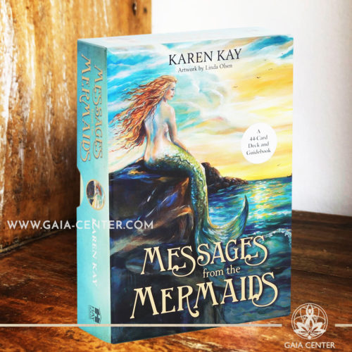 Oracle Card Deck - Messages from the Mermaids at Gaia Center | Cyprus. Tarot | Oracle | Angel Cards selection at Gaia Center | Cyprus.