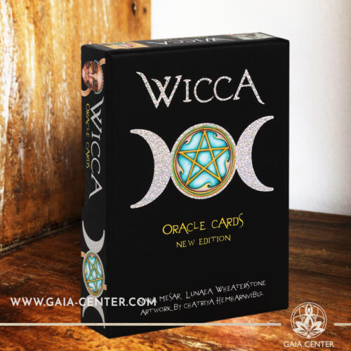Wicca Oracle Cards - 78 card deck with a guidebook at Gaia Center | Cyprus. Tarot | Oracle | Angel Cards selection at Gaia Center | Cyprus.