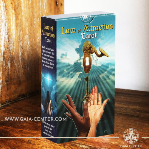 Law of Atraction Tarot Cards Deck at Gaia Center | Cyprus. Tarot | Oracle | Angel Cards selection at Gaia Center | Cyprus.
