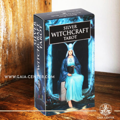 Silver Witchcraft Tarot Card Deck at Gaia Center | Cyprus. Tarot | Oracle | Angel Cards selection at Gaia Center | Cyprus.