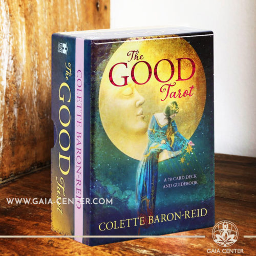 The Good Tarot card deck by Colette Baron-Reid includes a 78-card deck and 119 page guidebook at Gaia Center | Cyprus. Tarot | Oracle | Angel Cards selection at Gaia Center | Cyprus.