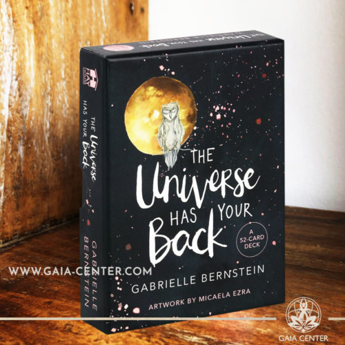 The Universe Has Your Back Oracle card deck by Gabrielle Bernstein includes a 52-card deck at Gaia Center | Cyprus. Tarot | Oracle | Angel Cards selection at Gaia Center | Cyprus.