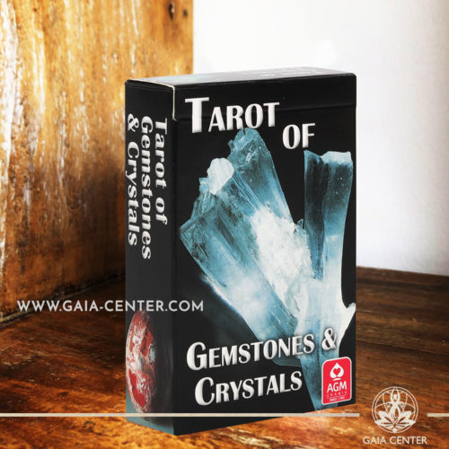 Tarot of Gemstones & Crystals Card Deck at Gaia Center | Cyprus. Tarot | Oracle | Angel Cards selection at Gaia Center | Cyprus.