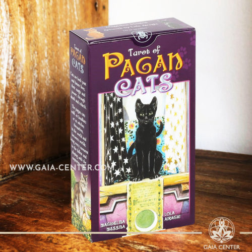 Tarot of Pagan Cats Card Deck at Gaia Center | Cyprus. Tarot | Oracle | Angel Cards selection at Gaia Center | Cyprus.