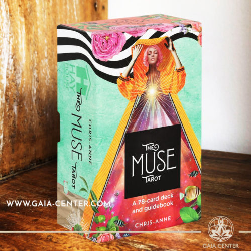 The Muse Tarot card deck by Chris-Anne Donnelly includes a 78-card deck and helpful guidebook at Gaia Center | Cyprus. Tarot | Oracle | Angel Cards selection at Gaia Center | Cyprus.