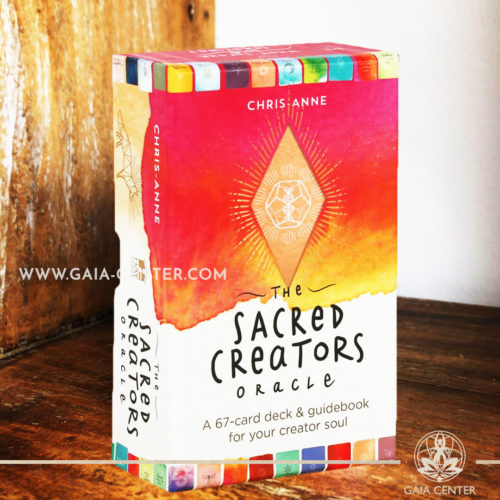 The Sacred Creator Oracle card deck by Chris-Anne Donnelly includes a 67-card deck and a guidebook. Tarot | Oracle | Angel Cards selection at Gaia Center | Cyprus.