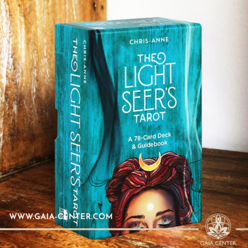 The Light Seer's Tarot card deck by Chris-Anne Donnelly includes a 78-card deck and helpful guidebook at Gaia Center | Cyprus. Tarot | Oracle | Angel Cards selection at Gaia Center | Cyprus.