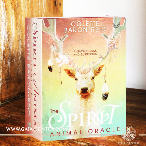 The Spirit Animal Oracle card deck by Colette Baron-Reid includes a 68-card deck and 200 page guidebook Tarot | Oracle | Angel Cards selection at Gaia Center | Cyprus.
