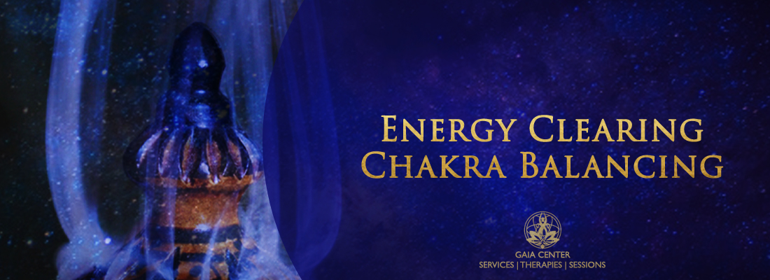 Energy Clearing and Chakra Balancing Healing Therapy at Gaia Center in Cyprus.