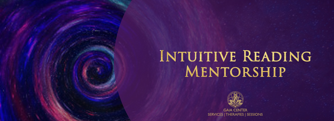 Intuitive Reading and spiritual mentorship guiding consultation at Gaia Center in Cyprus.