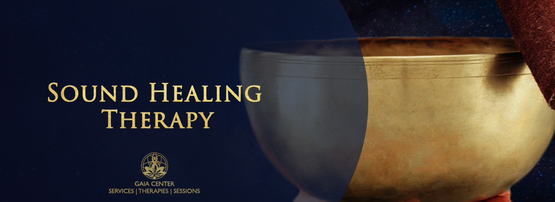 Sound Healing Therapy at Gaia Center in Cyprus.