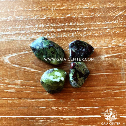 Dragon Stone Tumbled Stones, size 10-20mm. Crystals and Gemstone selection at GAIA CENTER | Cyprus.
