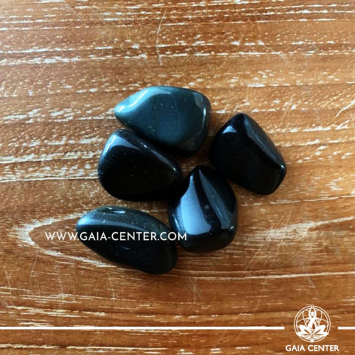 Rainbow Obsidian Tumbled Stones, size 20-30mm. Crystals and Gemstone selection at GAIA CENTER | Cyprus.